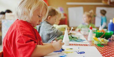 Kinder Zwergengarten Basteln kreativ Malen Phantasie
