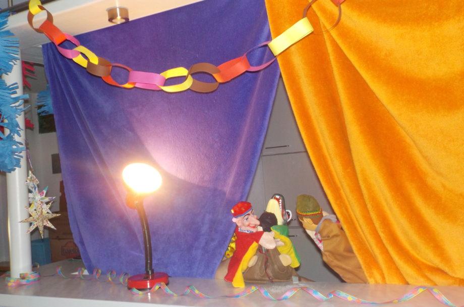 Puppentheater im Zwergengarten Haselstauden