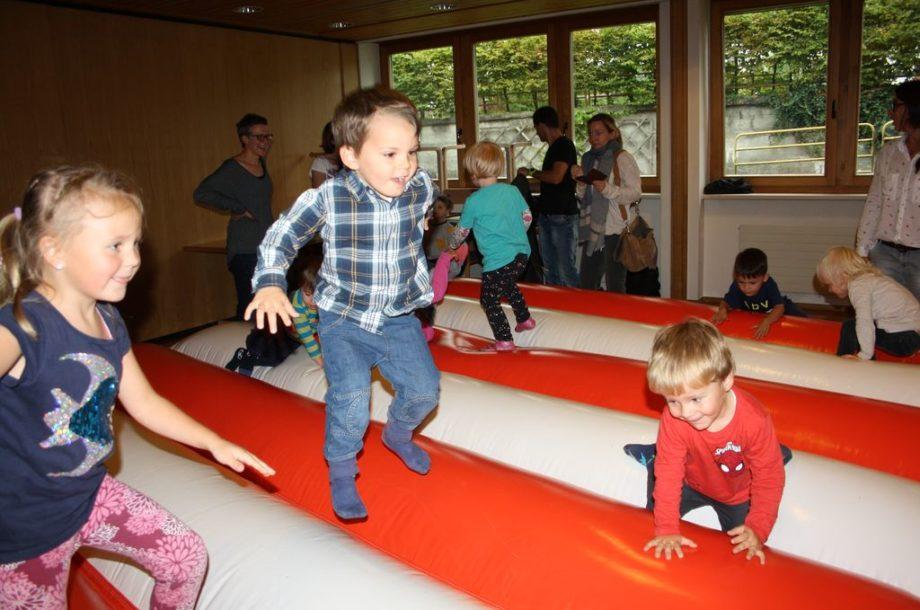 Bewegungsfest für Kinder im Zwergengarten Am Damm