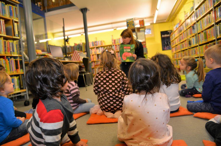 Leseabenteuer für die Kinder vom Zwergengarten in der Stadtbücherei Dornbirn