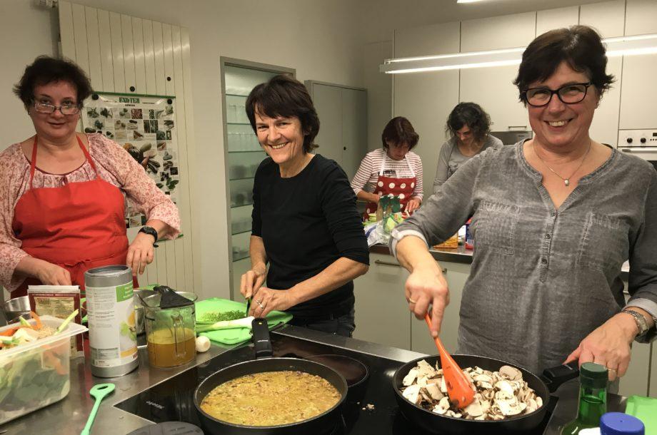 Tagesmütter bilden sich weiter zum Thema Kochen
