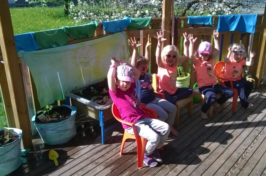 Das Gemüsebeet der Kinder aus dem Zwergengarten Haselstauden