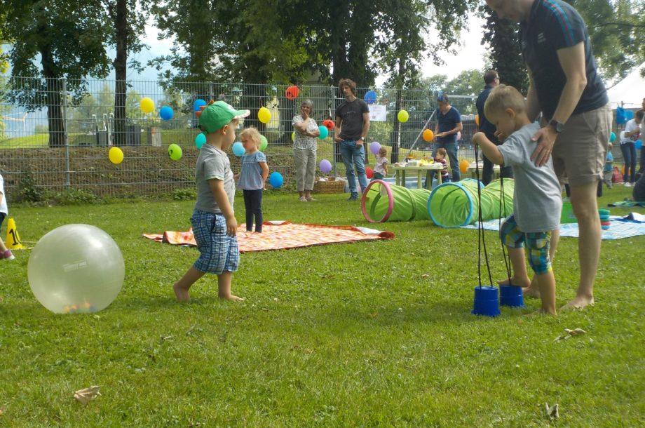 Familienpicknick auf der Birkenwiese