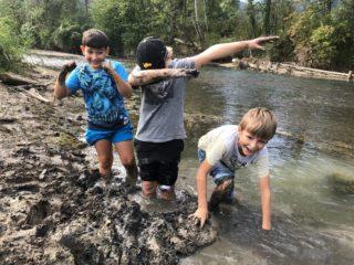Schülerbetreuung Höchst: Flussexpedition