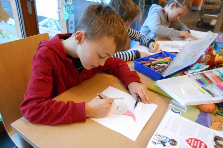 Volksschule Höchst: Malwettbewerb