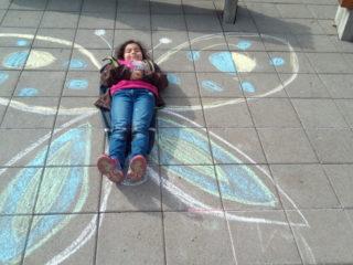 Volksschule Vandans: Fliegen wie eine Schmetterling