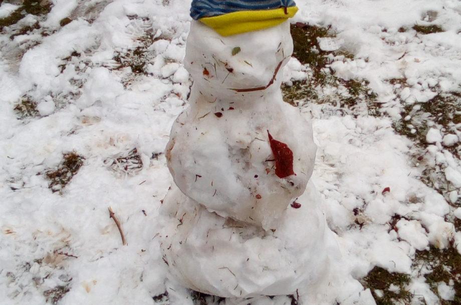 Schülerbetreuung Brand: Spiele im Schnee