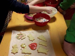 Tagesmütter Bludenz: Weihnachtsbäckerei