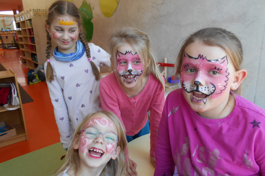 Ferienbetreuung Rankweil: Kinderschminken