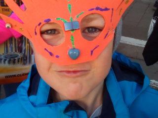 VS Vandans: Gesichtsmasken basteln