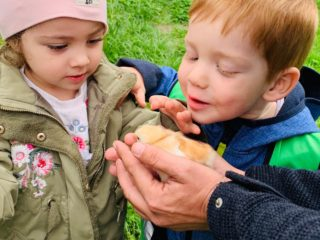 Tagesmütter Dornbirn: Besuch bei den Küken