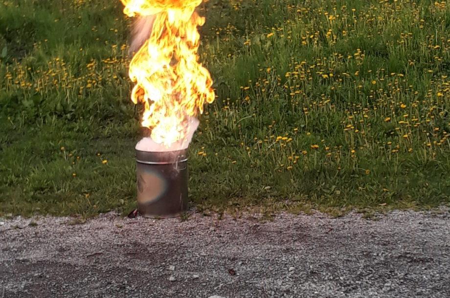 Tagesmütter Bregenzerwald: Brandbekämpfungsübung