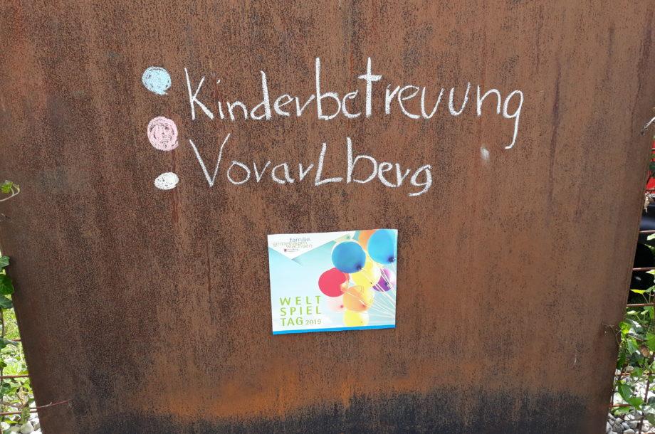 Tagesmütter Bludenz: Weltspieltag