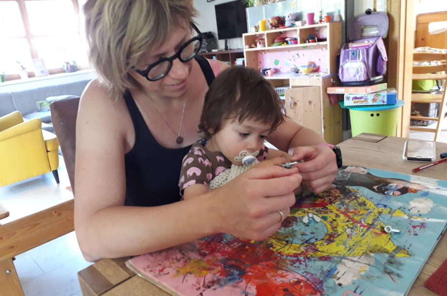 Tagesmütter Dornbirn: Vatertagsbasteln