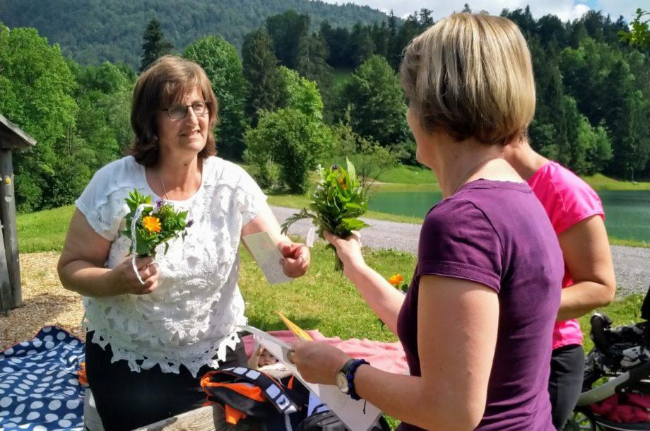 Tagesmütter Bregenzerwald: Picknick am Stausee