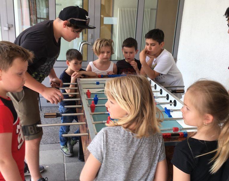 Volksschule Meiningen: Spielefest