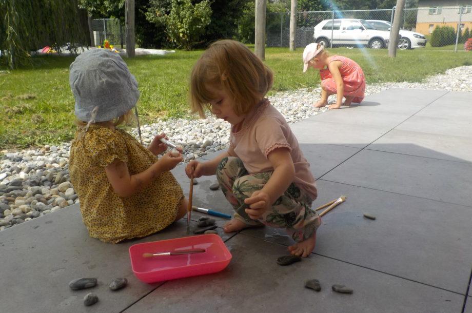 Zwergengarten Am Neuner: Abkühlung für die Steine