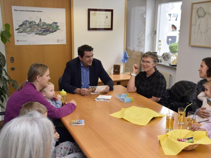 Tagesmütter Bregenz: Besuch beim Bürgermeister