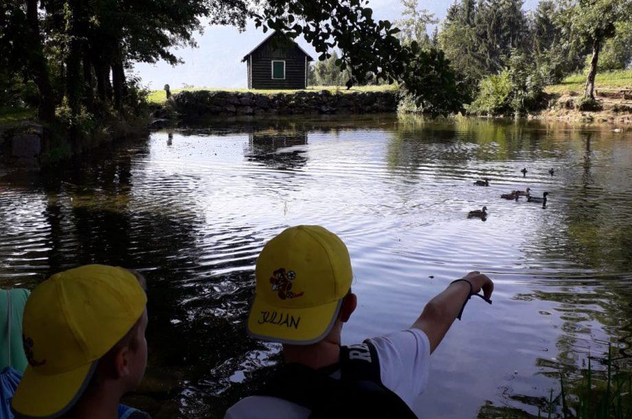 Ferienbetreuung Ludesch: Ausflug Thüringer Weiher