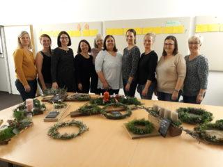 Tagesmütter: Weihnachtsdekoration