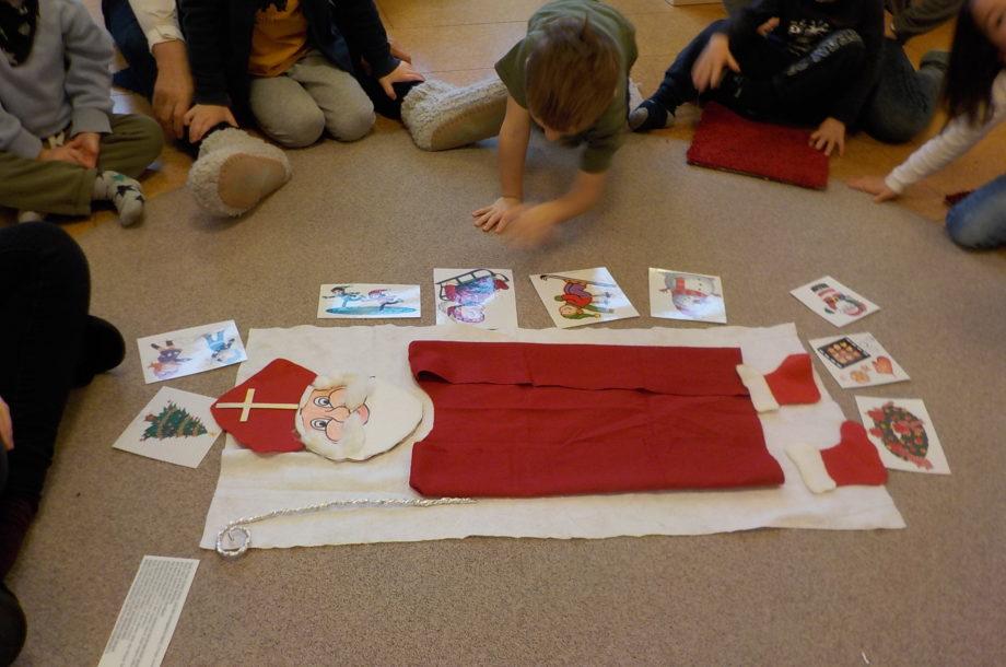 Zwergengarten: Weihnachtsvorbereitungen