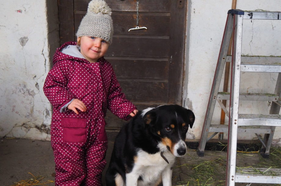 Tagesmütter: Bauernhofbesuch