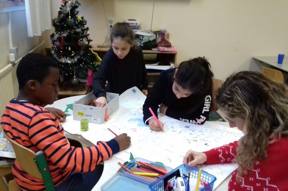 Schülerbetreuung: Weihnachtsfeier