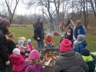 Zwergengarten: Elternhock
