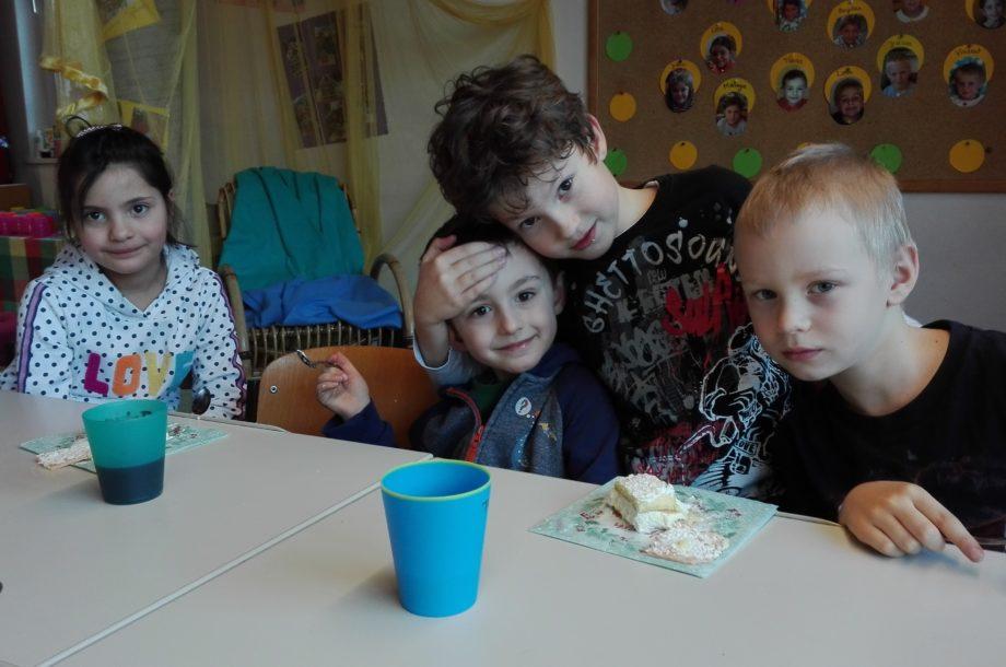 Schülerbetreuung: Geburtstagsfeier