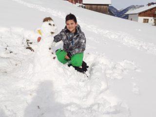 Mein Freund aus Schnee