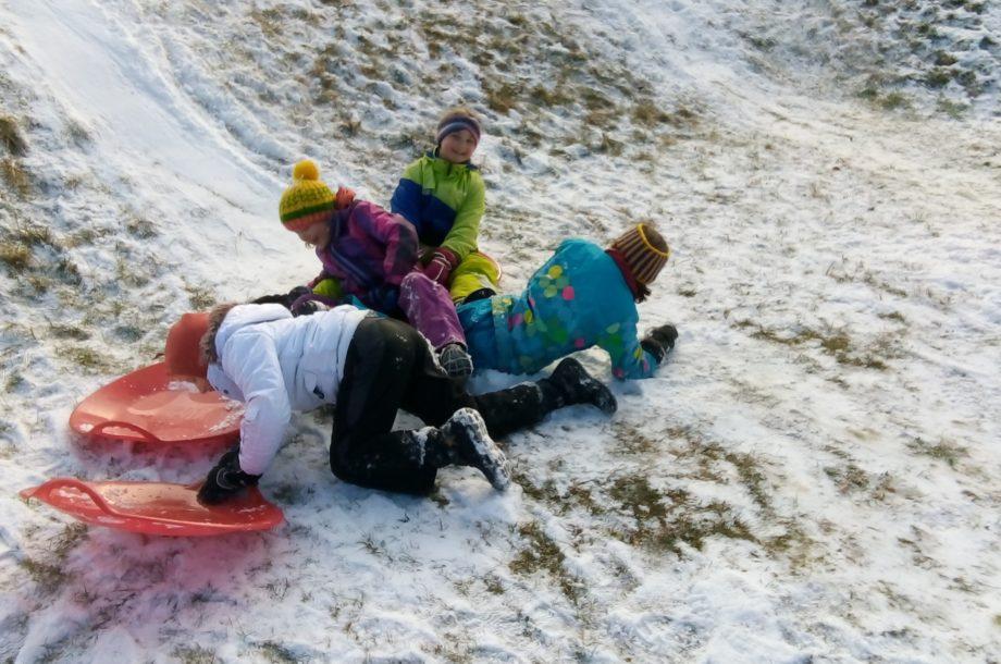 Winterfreuden in der Schülerbetreuung Tschagguns
