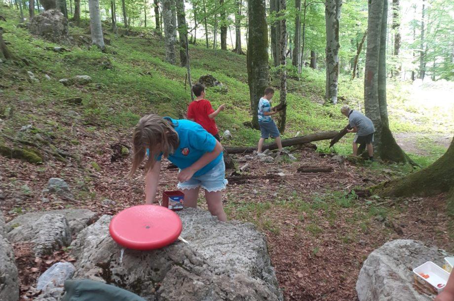 Volksschule Brand: Abenteuer Wald