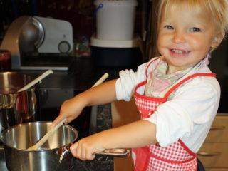 Tageskinder kochen Marmelade