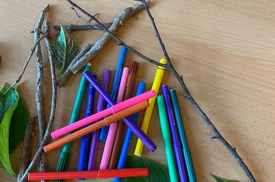 Materialien für den Blätterdruck