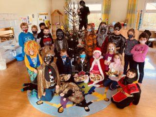 Weihnachtsfeier in der Schülerbetreuung