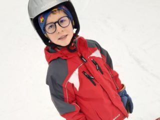 Skifahren mit Tagesmutter Maria Plank